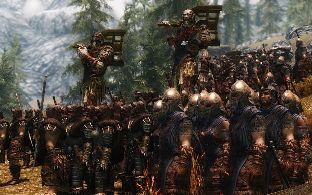 Stormcloaks army