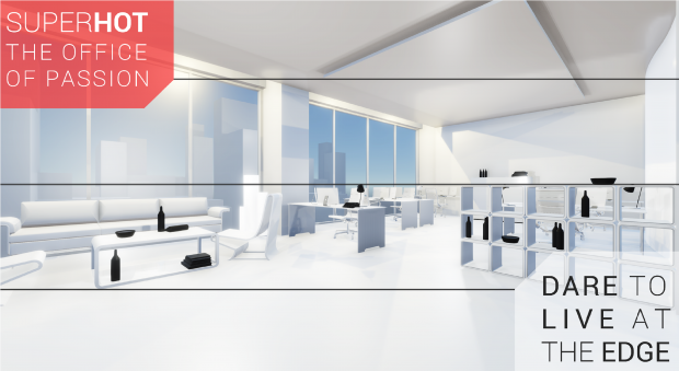 SUPERHOT OFFICE INTERIOR DESIGN