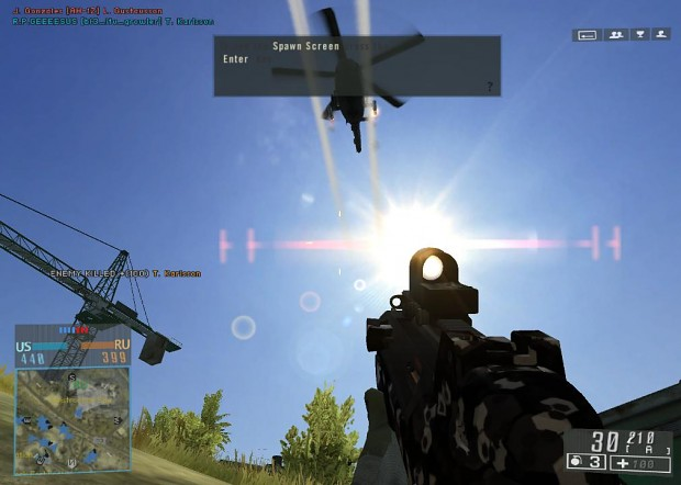 battlefield 4 sunflare