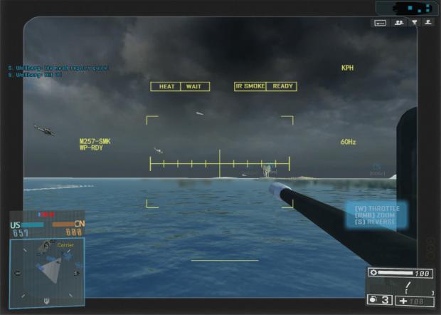 battlefield 4 attack boat HUD 2