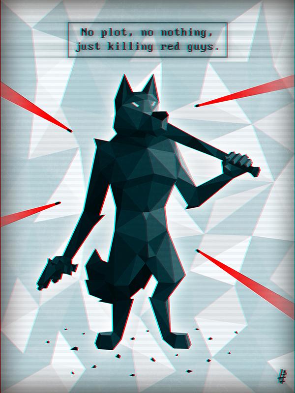 Super Hot Werewolf - Black