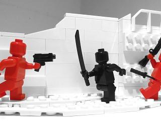 SUPERHOT Lego's