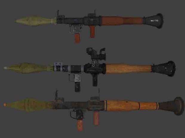 RPG-7 Comparison