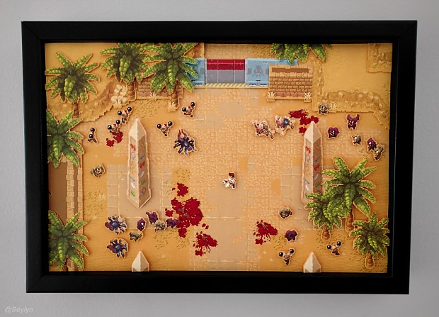 Serious Sam: Pixels to Paper