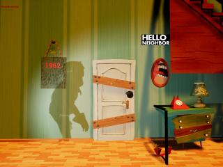 Hello, Neighbour Old Art Remake!