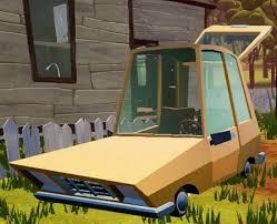 Hello Neighbor Beta 3 Player Car
