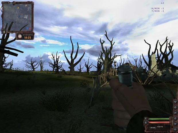 vegetation remover for lost alpha