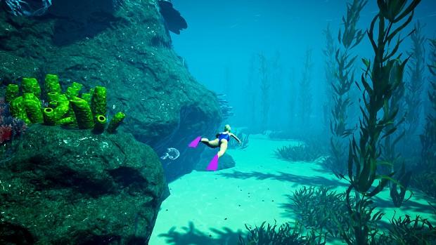 Exploring underwater :)