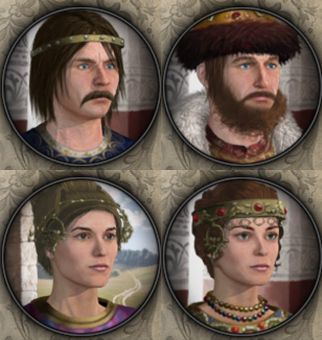 HAHE Russian Portraits Preview