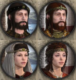 HAHE Celtic Portraits Preview