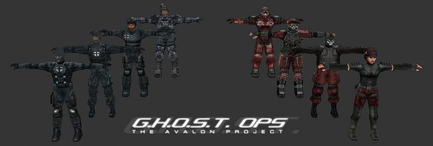 Player Models Completed!!!