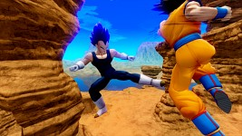 Goku Fights Vegeta