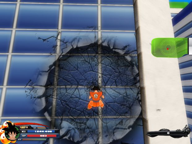 PotW: Goku got Smashed in to the Building