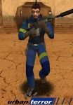 Male Model (Blue)
