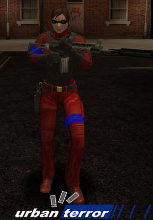Female Model (Red)