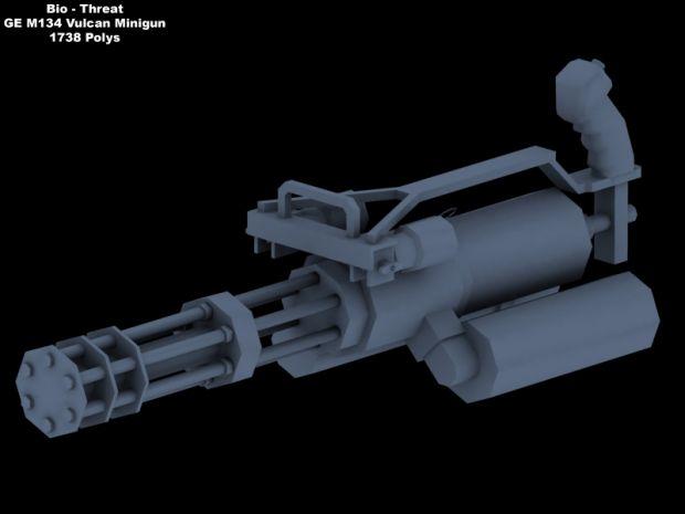 GE M134 Vulcan Minigun image - Bio-Threat Mod for Half-LifeVulcan Minigun