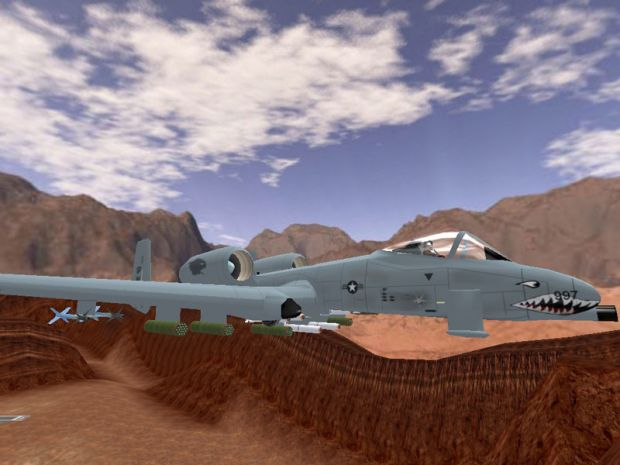 A-10 with new skin