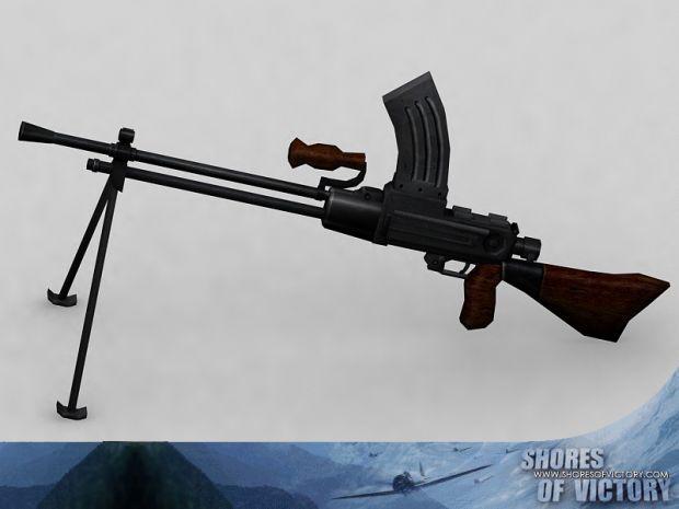 Skinned Type 96 Weapon Model