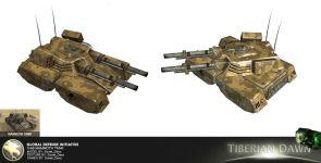GDI X-66 Mammoth Tank