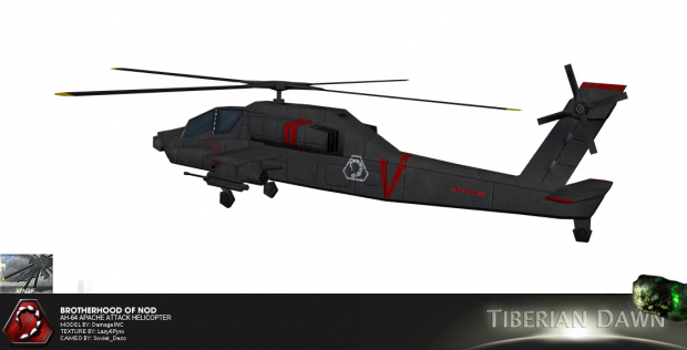 Nod Apache Attack Helicopter