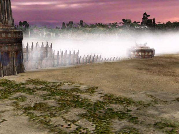 Mordor Walls