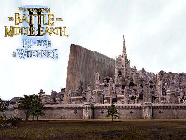 Minas Tirith Wallpaper Image Rj Rotwk Mod For Battle For