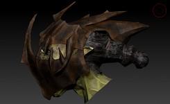 Moria Orc helmet