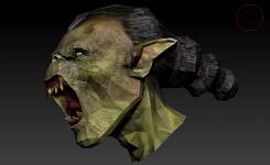 Moria Orc head