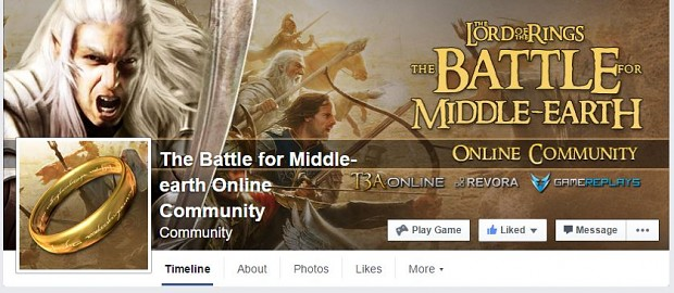 check out: The Battle for Middle-earth Online Community