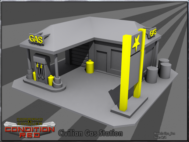 Civilian Gas Station