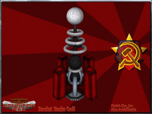 Soviet Tesla Coil Image Cnc Condition Red Mod For C Amp C