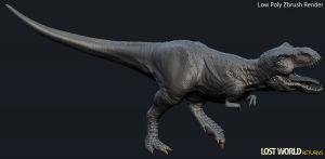 Low Poly Rex
