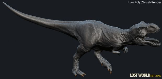 Low Poly Rex