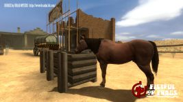 Horses will be added as animated props in beta 2.6