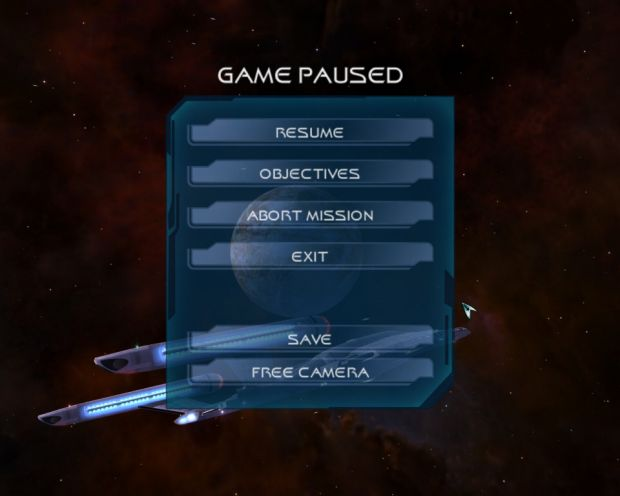 In-game menu