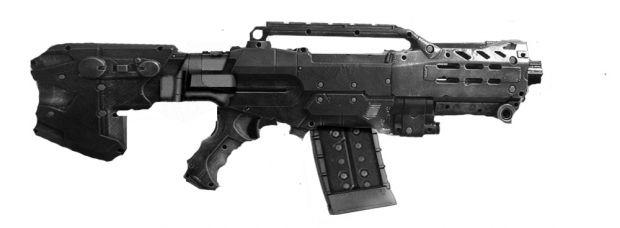Heavy Assault Rifle Concept