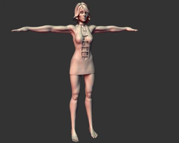 Super hero Female character