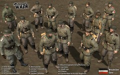 TGW1918 - all German soldier models