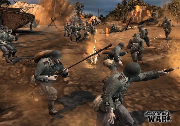 combat scenes
