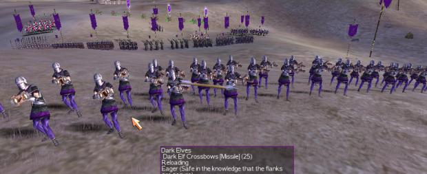 Dark Elf Crossbows