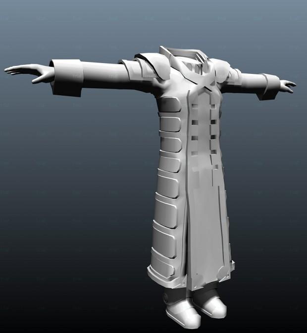 Kane's armor.