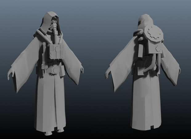 Model for a techpriest