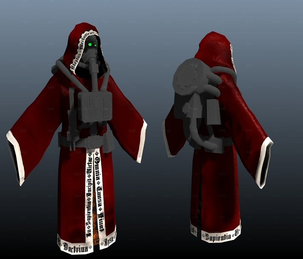 Techpriest texturing progress