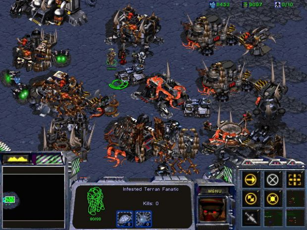 Well Stablished Infested Terran Base Image Dark