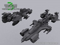 GDI Grizzly Battlecruiser