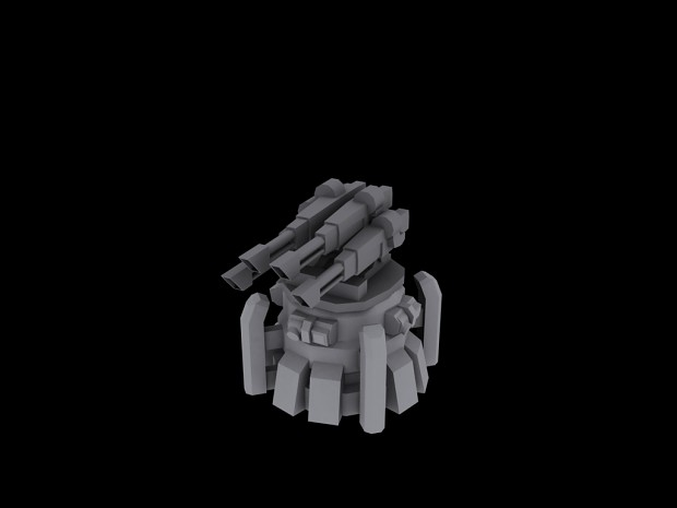 GDI Anti-Air turret for the Component Tower.