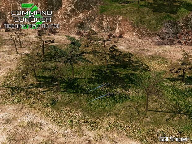 Updated GDI Sniper