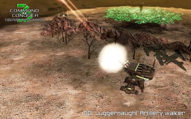 GDI 'Juggernaught' Artillery Walker
