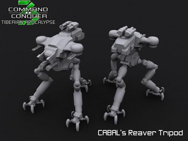 CABAL Reaver tripod
