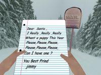 A leter  to santa
